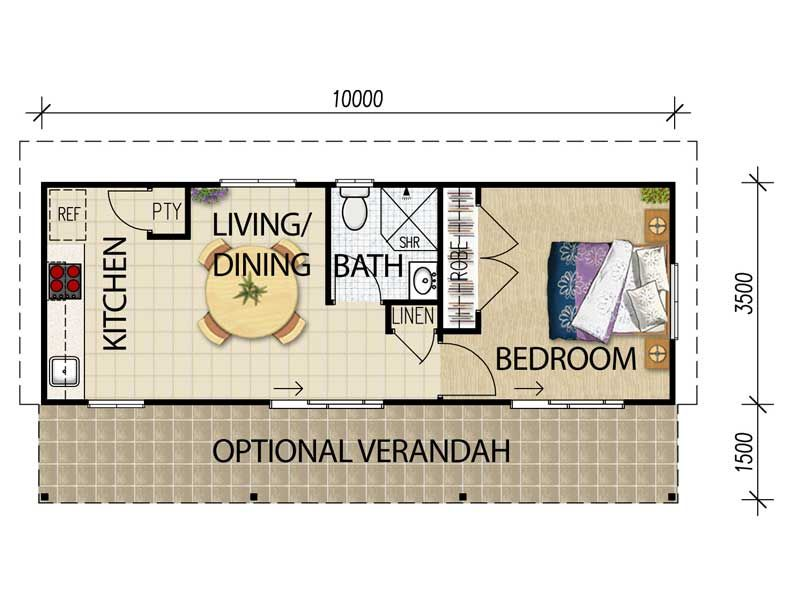 for Granny flat plans