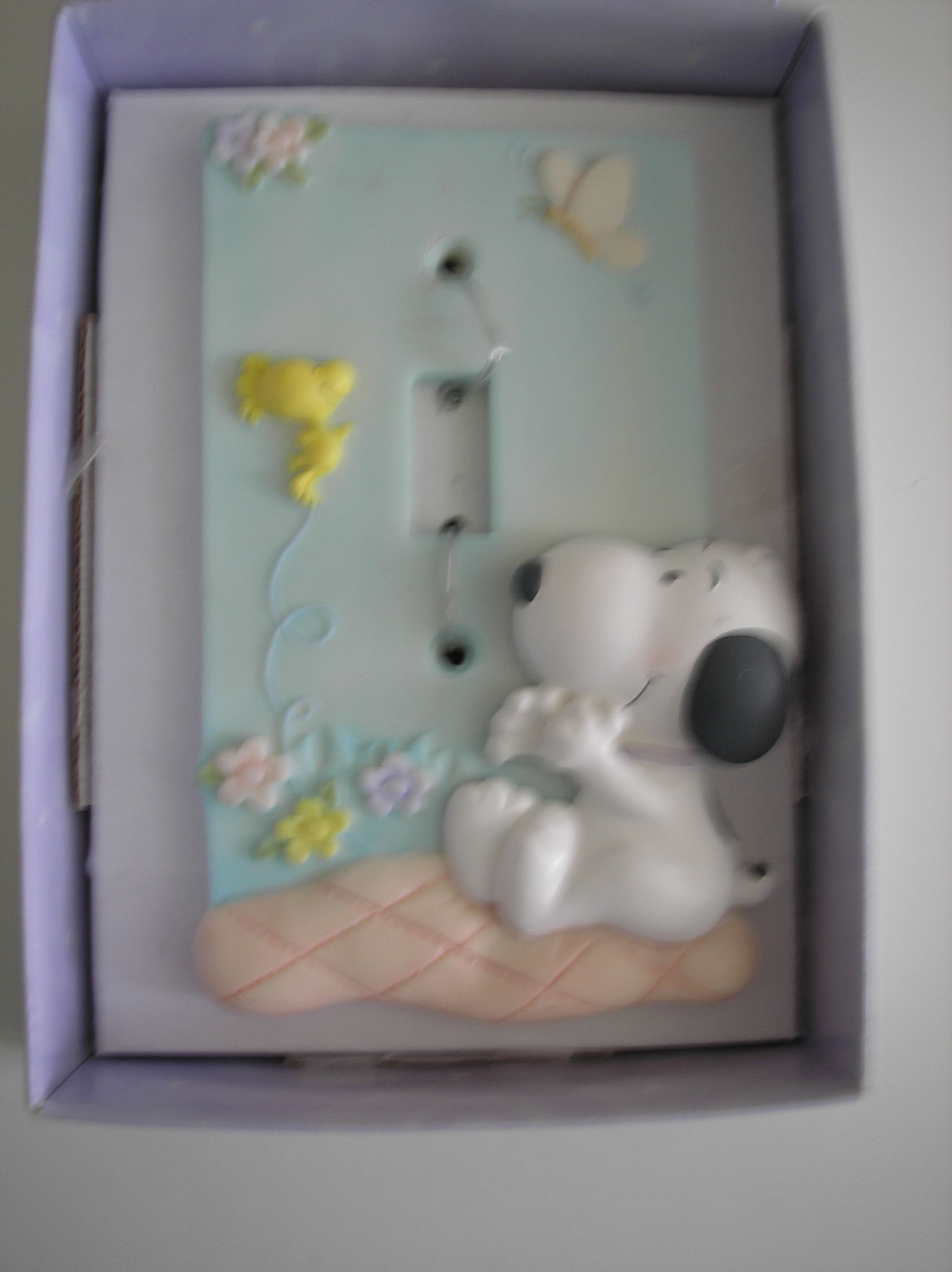 Interruptores Decorados Snoopy Hallmark Light Switch Plate Cover 12 00 Snoopy