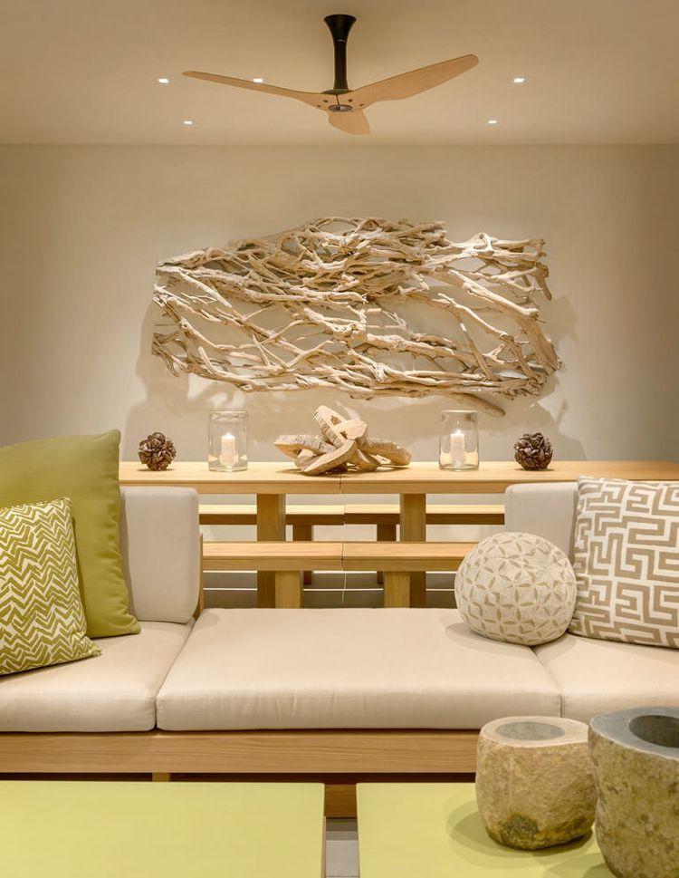 Moderne Wanddekoration Wohnzimmer