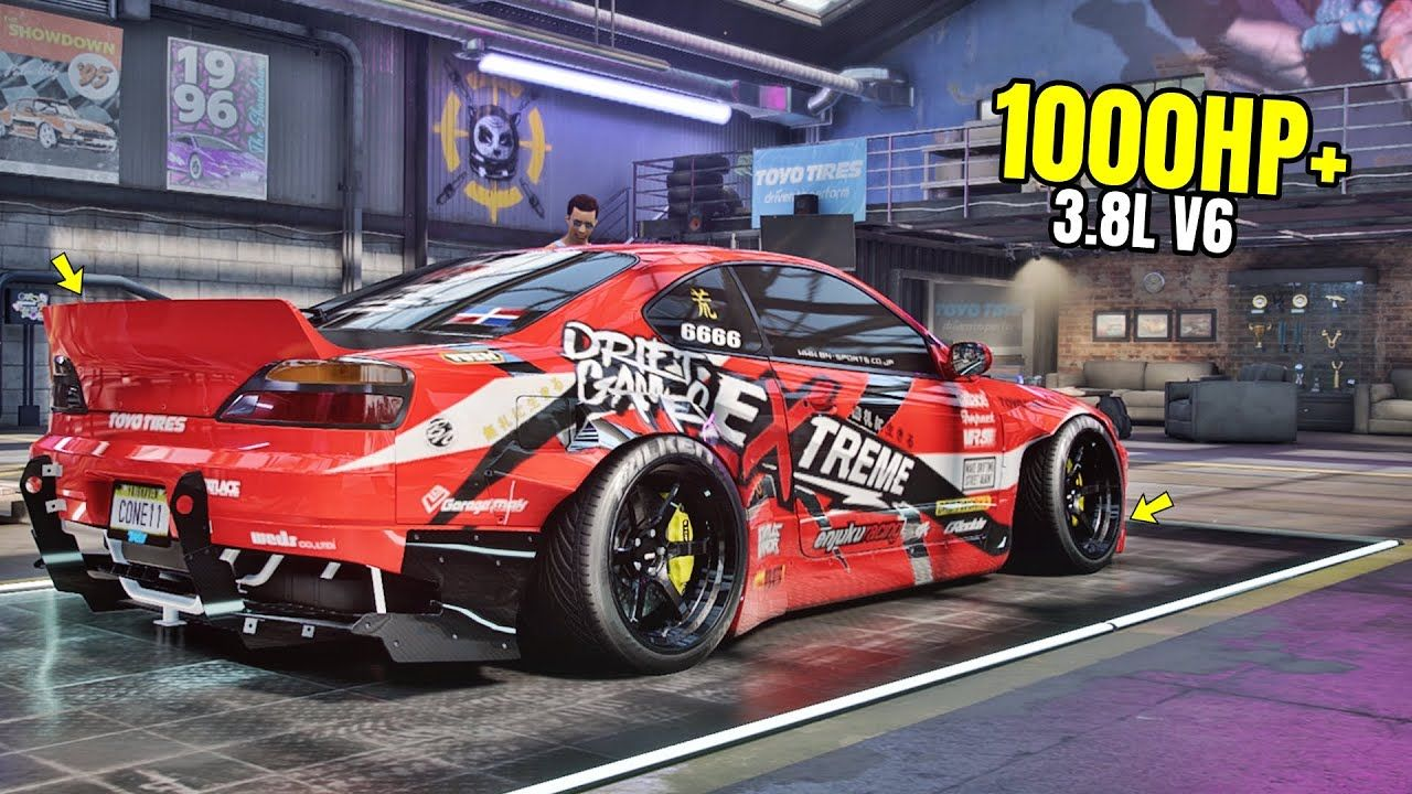 Need For Speed Heat Gameplay 1000hp Nissan Silvia Spec R Aero Customi In 2020 Nissan Silvia Need For Speed Cars Nissan