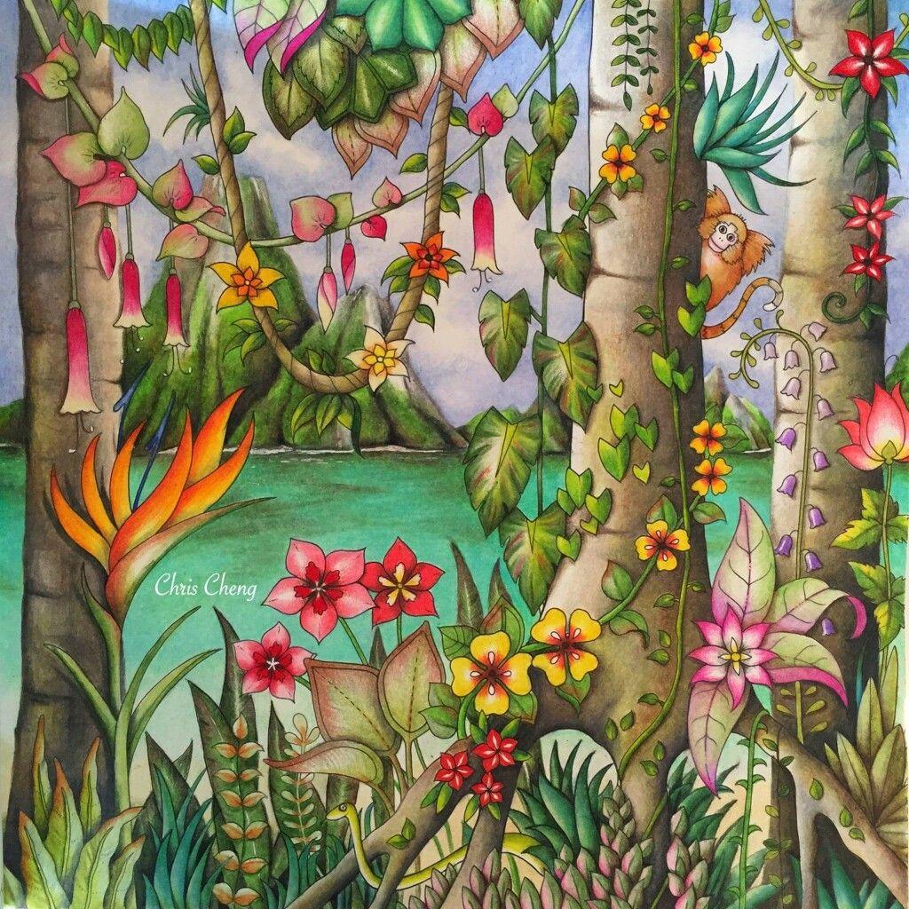 Pin by TrishShow on Magical jungle ideas | Pinterest | Johanna ...