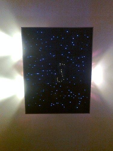 LED Sternenhimmel-Set Ambiente Beleuchtung Badezimmer 0793573962485 - sternenhimmel für badezimmer