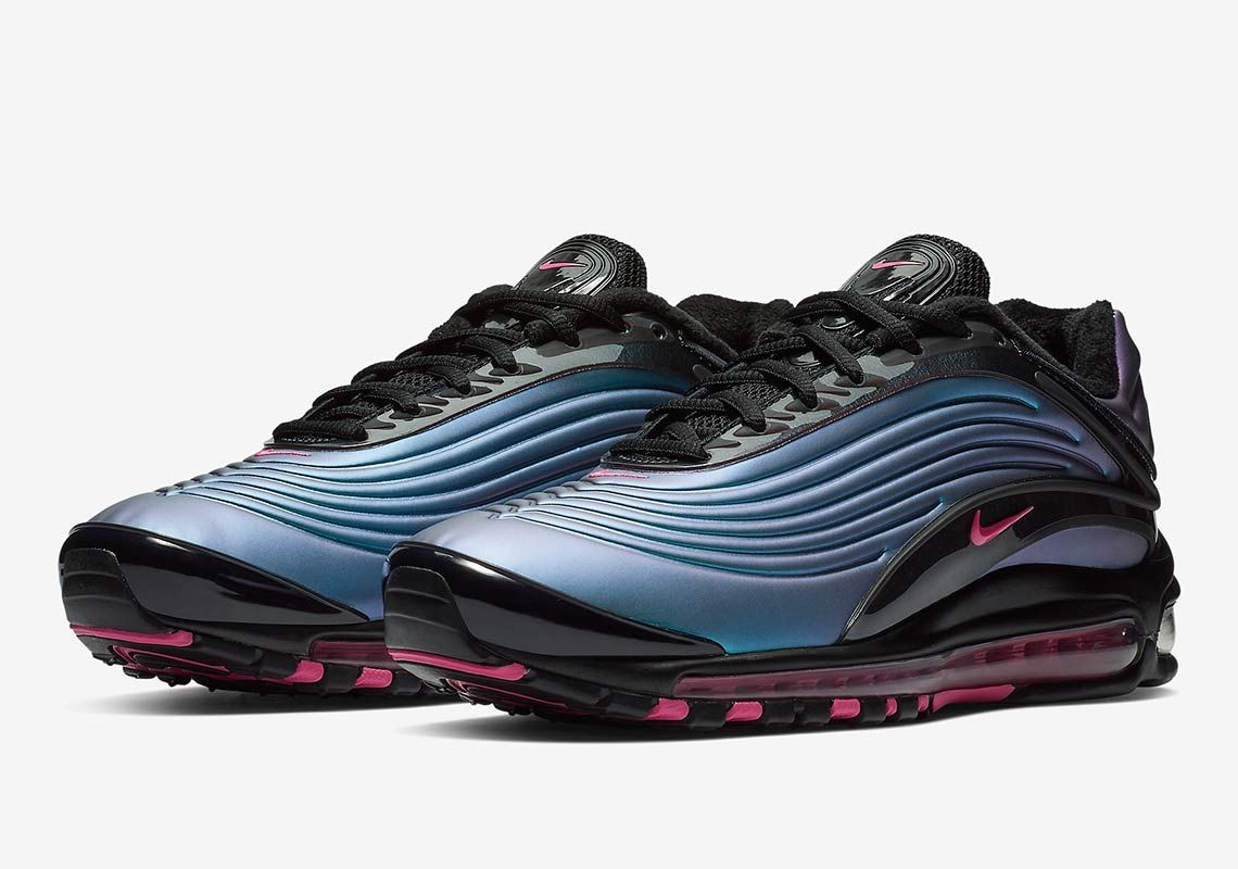 A Futuristic Colorway Lands On The Nike Air Max Deluxe Sneakers Nike Air Max Nike Air Max Nike
