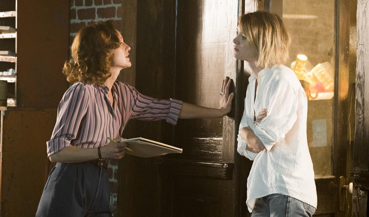 Halt and Catch Fire Season 3 - Promo image. Kerry Bishe as Donna and Mackenzie Davis as Cameron.