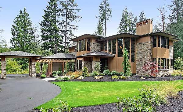 Plan 23480jd Above And Beyond Prairie Style Houses Modern Style House Plans Contemporary House Plans