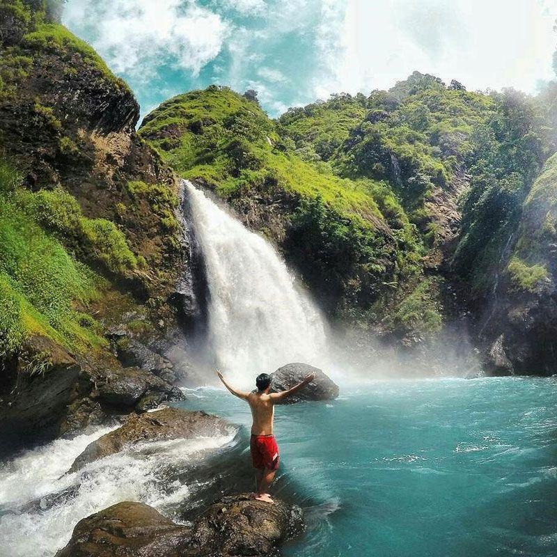 Pantai Air Terjun Hingga Aliran Sungai Ternyata Garut Punya Beragam Tempat Wisata Alam Menarik Dan Belum Banyak Dieksplor Untuk Anda D Tempat Air Terjun Alam