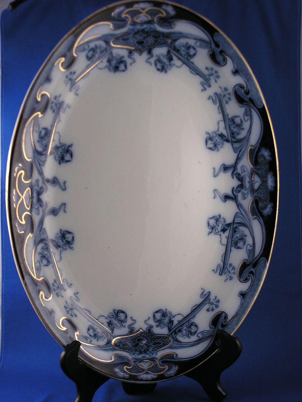 royal staffordshire pottery iris