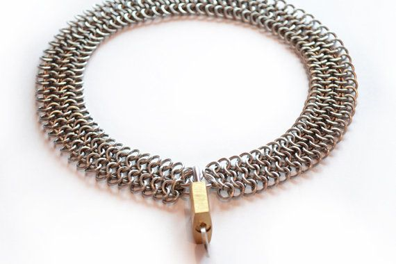 4 in 1 Steel Square Wire Collar by Gibbtall on Etsy, $45.00