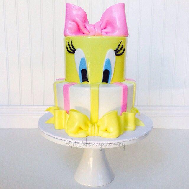 Tremendous Tweety Bird Cake With Images Tweety Cake Bird Cakes Funny Birthday Cards Online Kookostrdamsfinfo