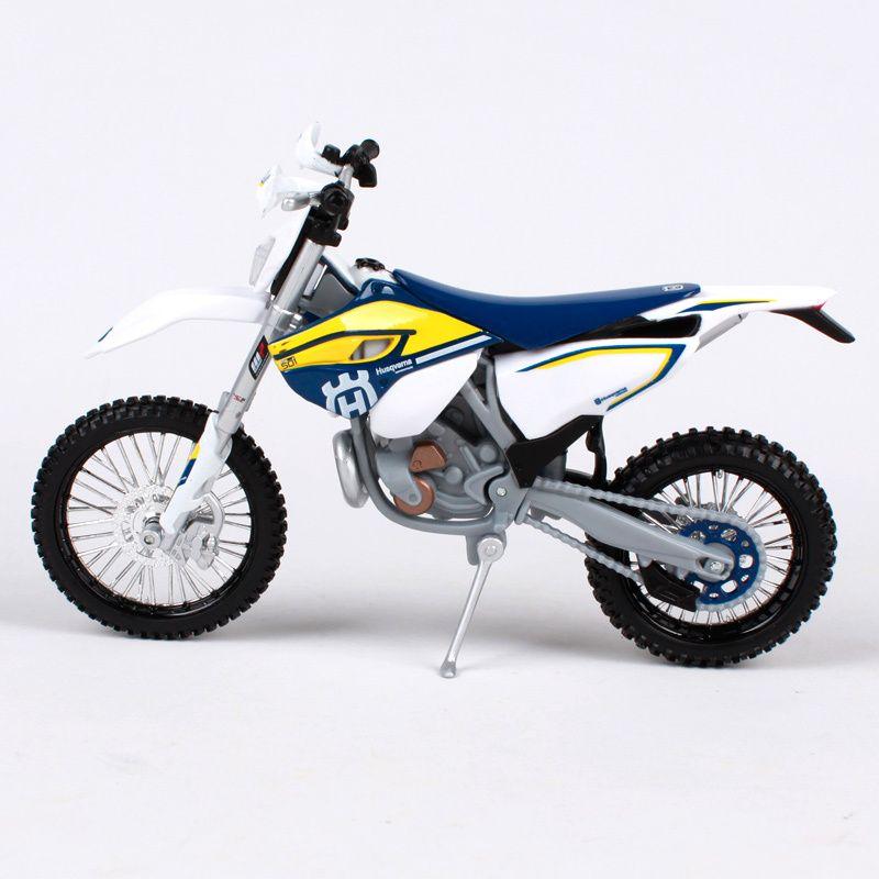 Maisto Motorcycle Vehicle Model 1//12 Husqvarna FE 501 Diecast Motorbike Toy Gift