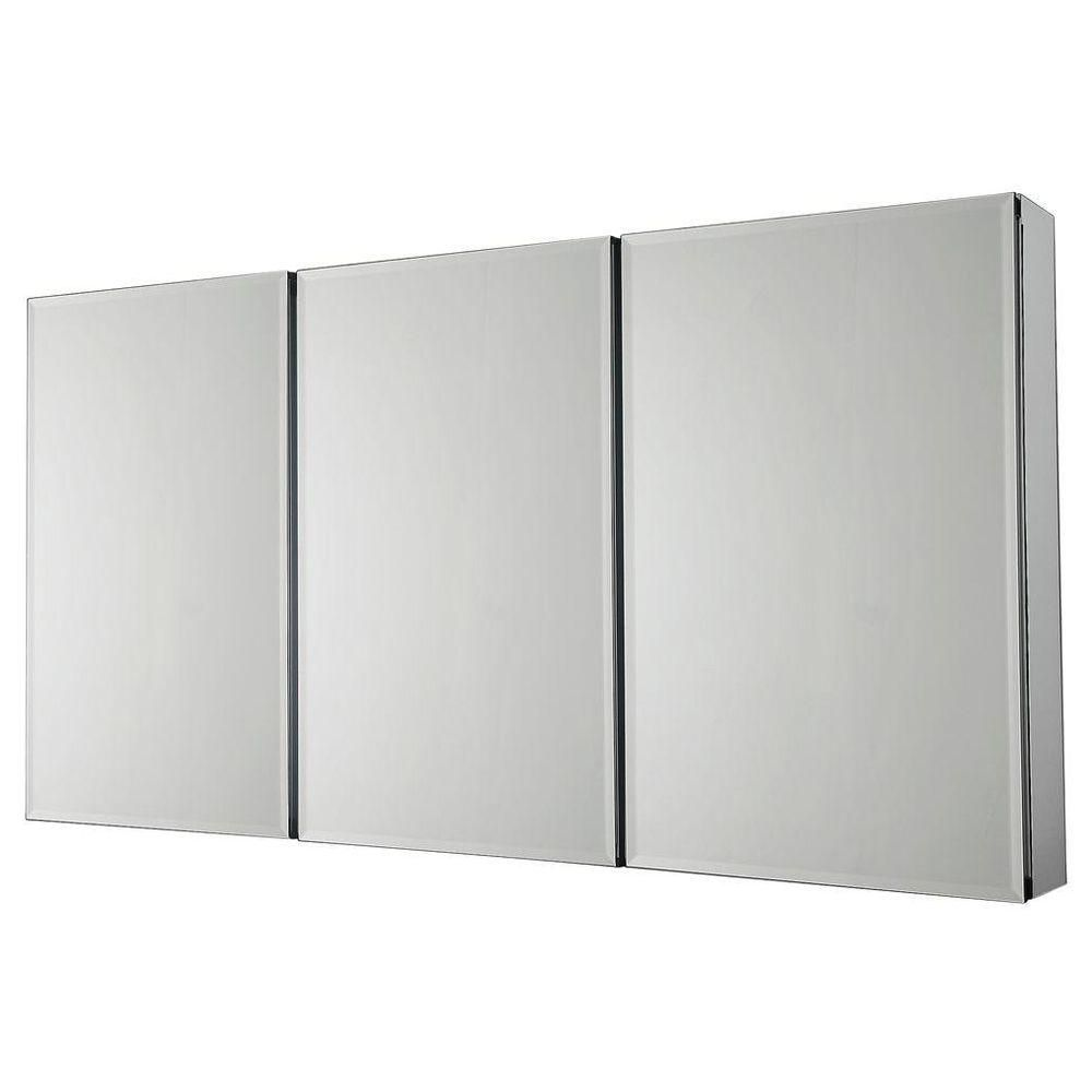 Pegasus 48 In W X 26 In H Frameless Recessed Or Surface Mount