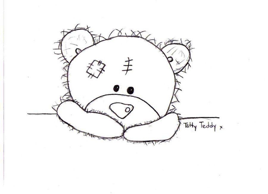 Tatty Teddy Colouring Pages Dopepicz Tatty Teddy Designs