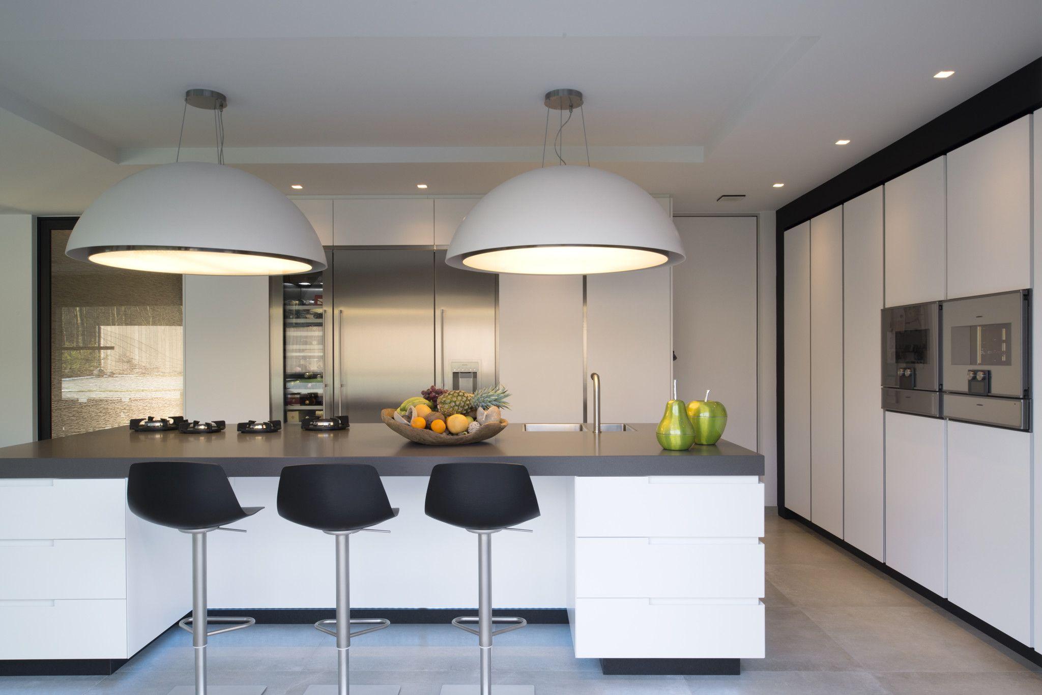 Moderne Witte Keukens : Afbeeldingsresultaat voor moderne witte keuken nieuwe woning