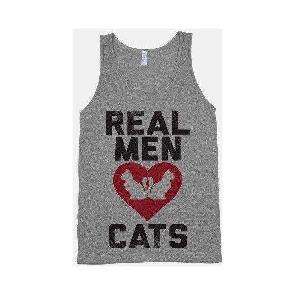 Real Men Love Cats ($26) via Polyvore