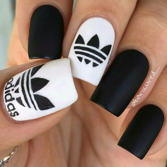 55 Trendy Spring Acrylic Nails You Will Love In 2020 With Images Adidas Nails Trendy Nails Pretty Nails