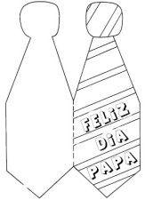 Tarjetas Para El Dia Del Padre En Forma De Corbata Dia Del Padre