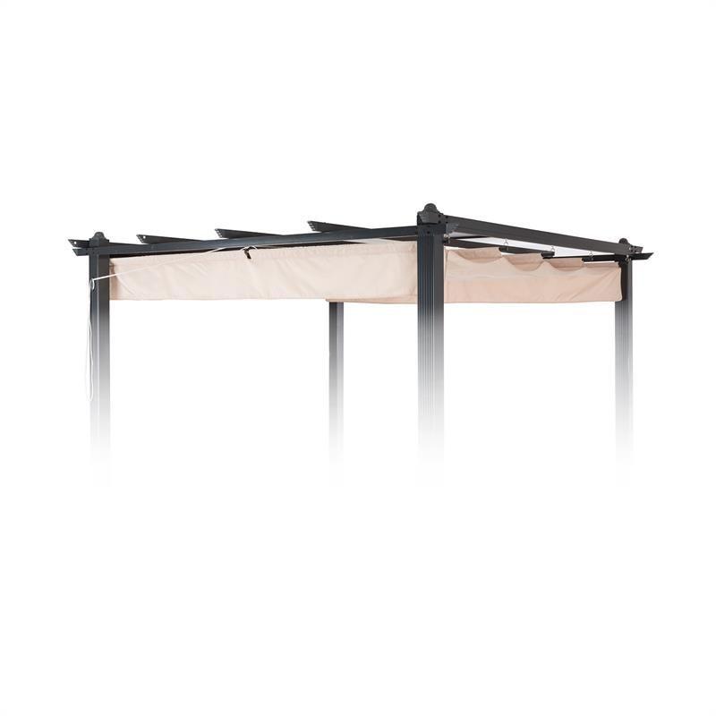 Blumfeldt Pantheon Roof Toit De Rechange Pour Pergola De Jardin 3 X 3 M Beige In 2020 Decor Loft Furniture