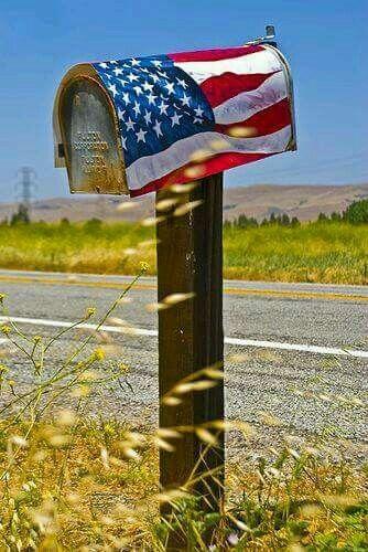Love This Bandiera Americana Bandiera Cassettiere