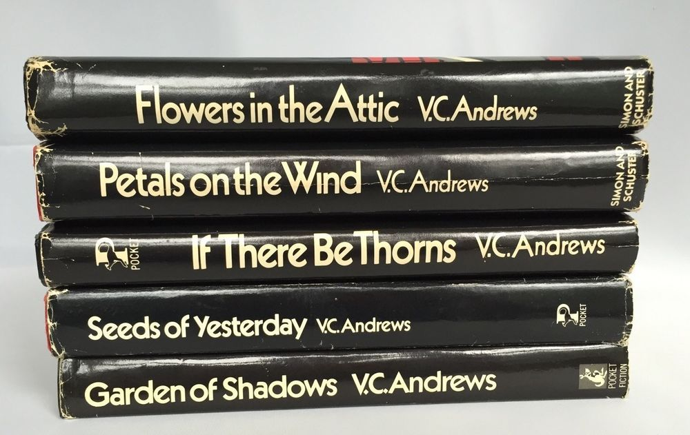 V C Andrews Dollanger Series Flowers In The Attic Hardcover 5 Book Set First Ed Flowers In The Attic Hardcover Book Book Set