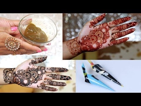 How to make mehndi paste at home for hands