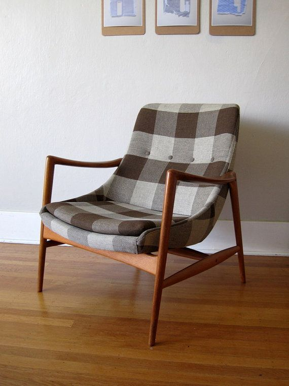 This Chair Is Remarkable Perfect Upholstery Vintage Norwegian Modern Armchair