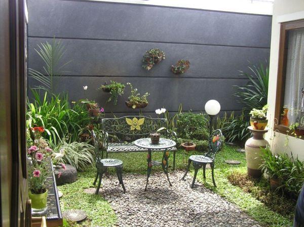 Dicas de Decoração para Jardins Pequenos   Decoração e Dicas
