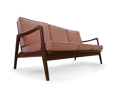 lounge sofa 50er teak 60er danish modern jalk ra midcentury lounge sofa teak and danish. Black Bedroom Furniture Sets. Home Design Ideas