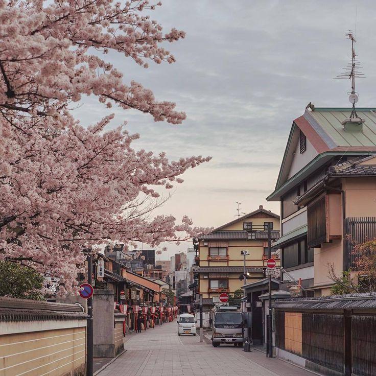 Фото японский город утро