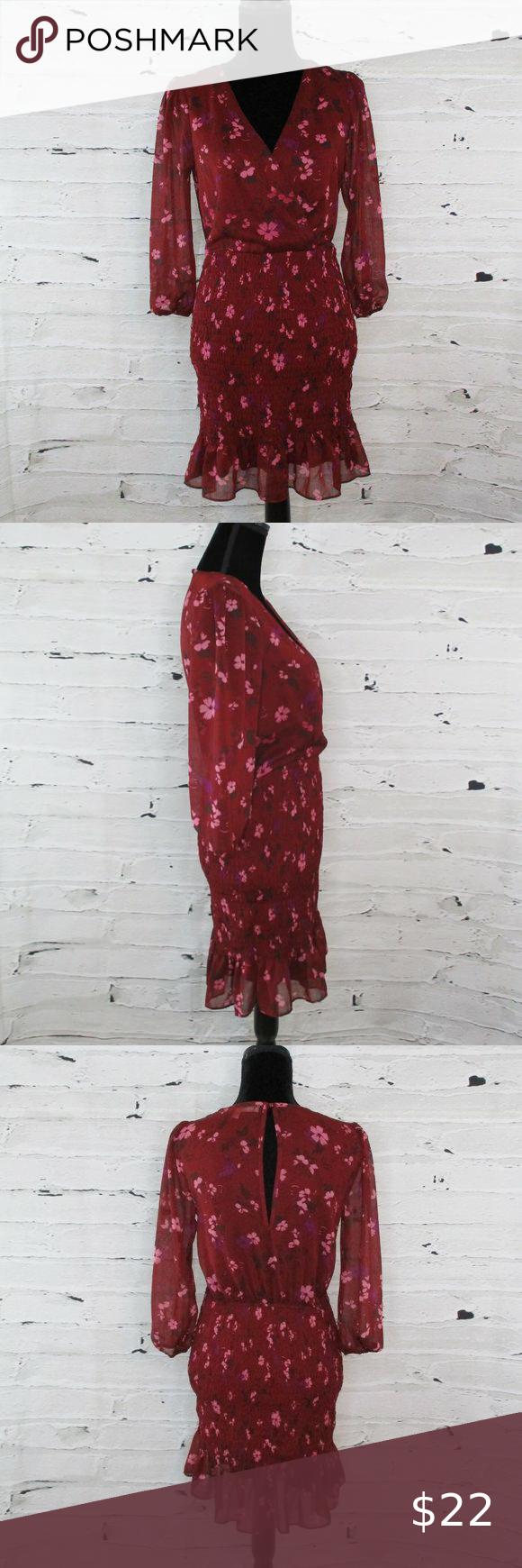 Row A Smocked Long Sleeve Chiffon Mini Dress In 2021 Chiffon Mini Dress Chiffon Long Sleeve Mini Dress [ 1740 x 580 Pixel ]
