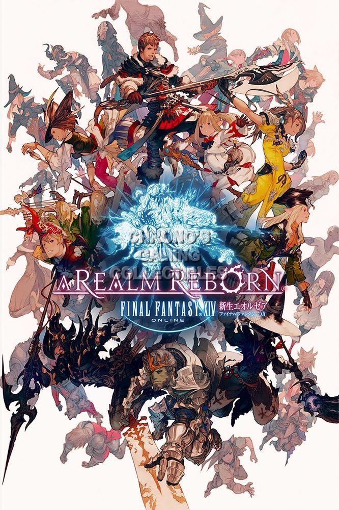 rgc huge poster final fantasy xiv