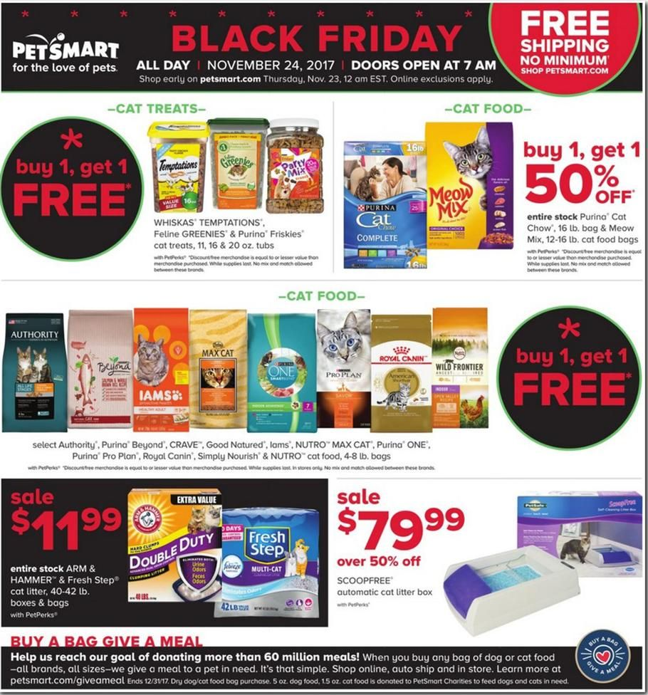 Petsmart Black Friday 2017 Ads And Deals Treat Your Pet To The Holiday Season It Has Always Wanted And Shop Petsmart Black Friday F Petsmart Coupons Pinte