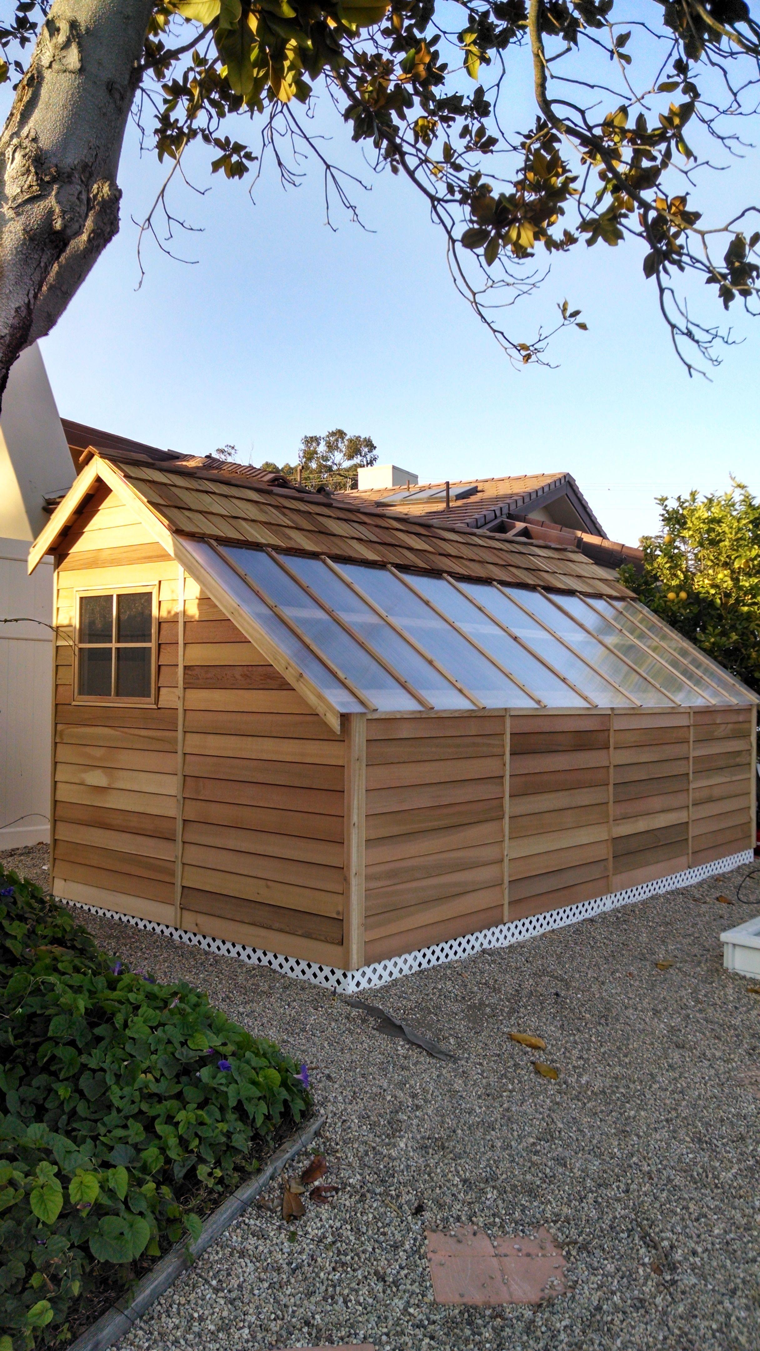 Cedar Shed Project
