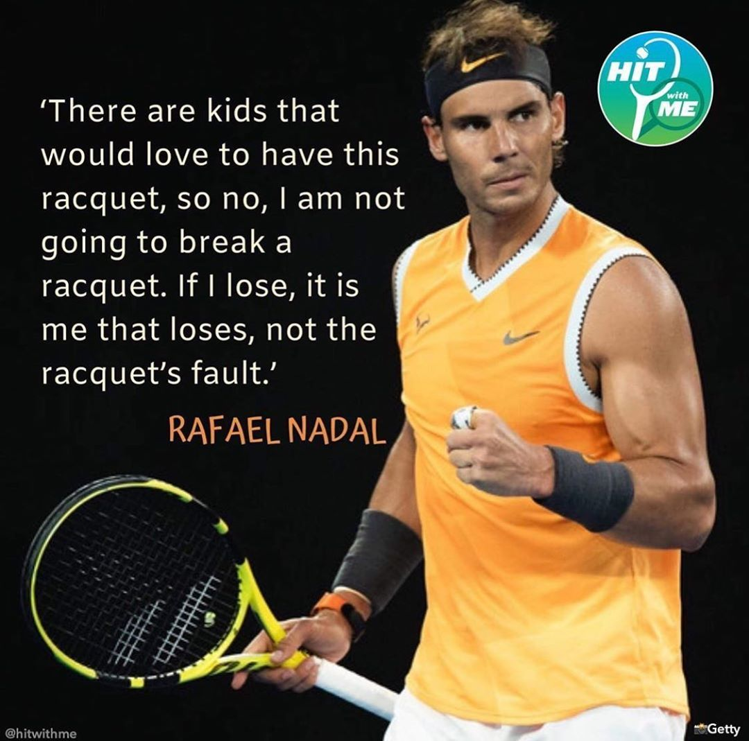 Instagram Post By Rafael Nadal Fanpage Jun 7 2019 At 4 13pm Utc Rafael Nadal Tennis Quotes Tennis Lessons
