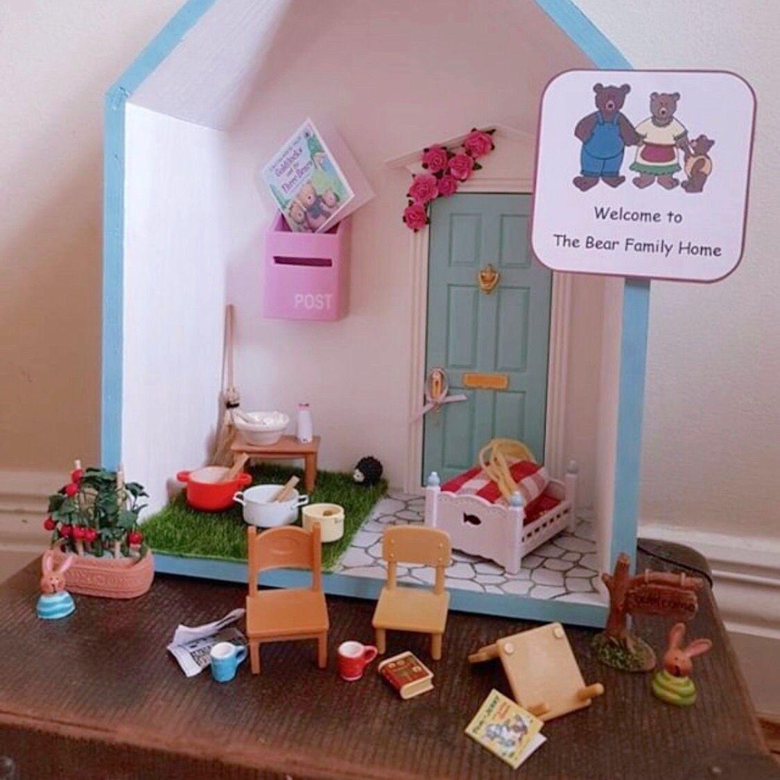 Goldilocks And The Three Bears Fairy Door Idea Fairy Door Accessories Fairy Doors Goldilocks And The Three Bears