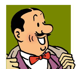 Séraphin Lampion! Aline for Tintin!