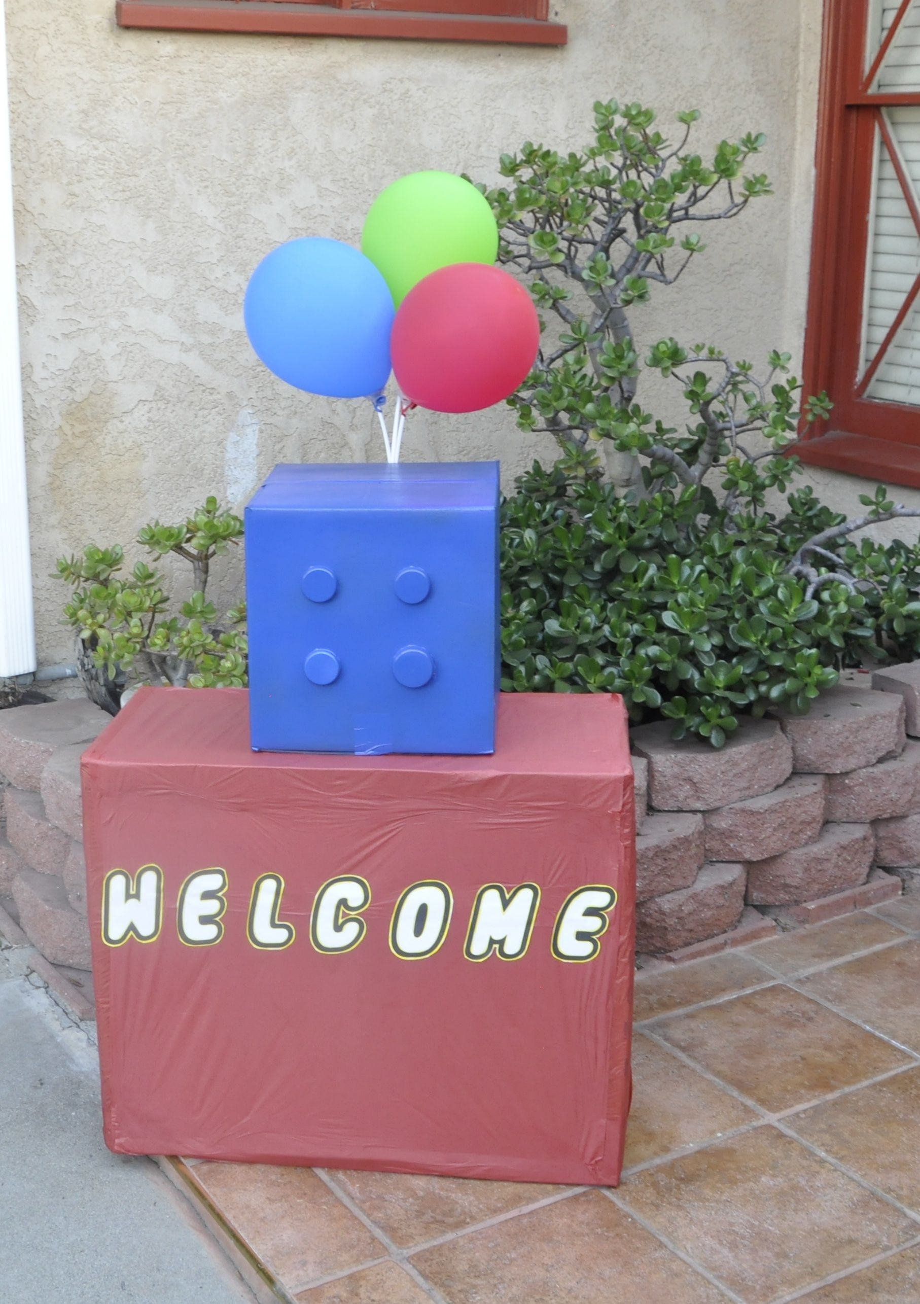welcome sign originated from google search..loL!