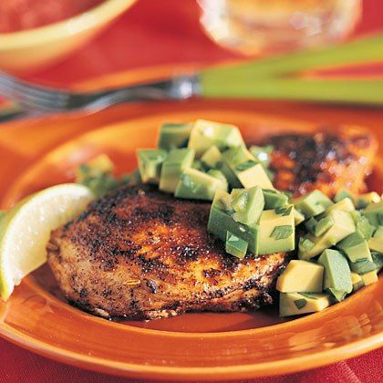 Seared chicken with avocado from texas recipes healthy chicken seared chicken with avocado 20 tasty diabetic friendly recipes health mobile forumfinder Image collections