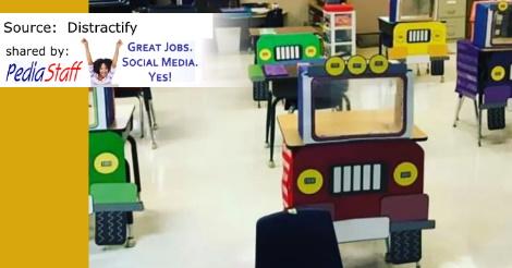 Adorable Idea for the Socially Distant Classroom
