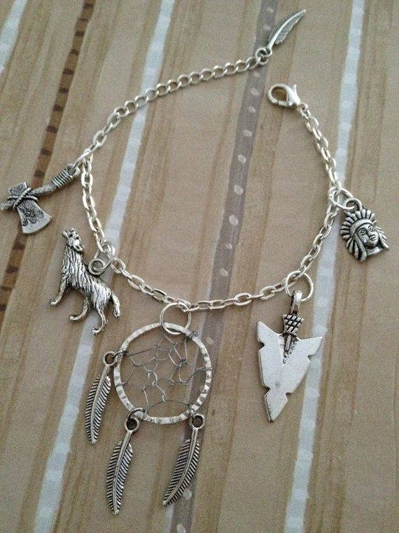 Dream Of Wolves Dreamcatcher Charm By SweatshopLABORofLOVE Wolves Amazing Dream Catcher Charm Bracelet
