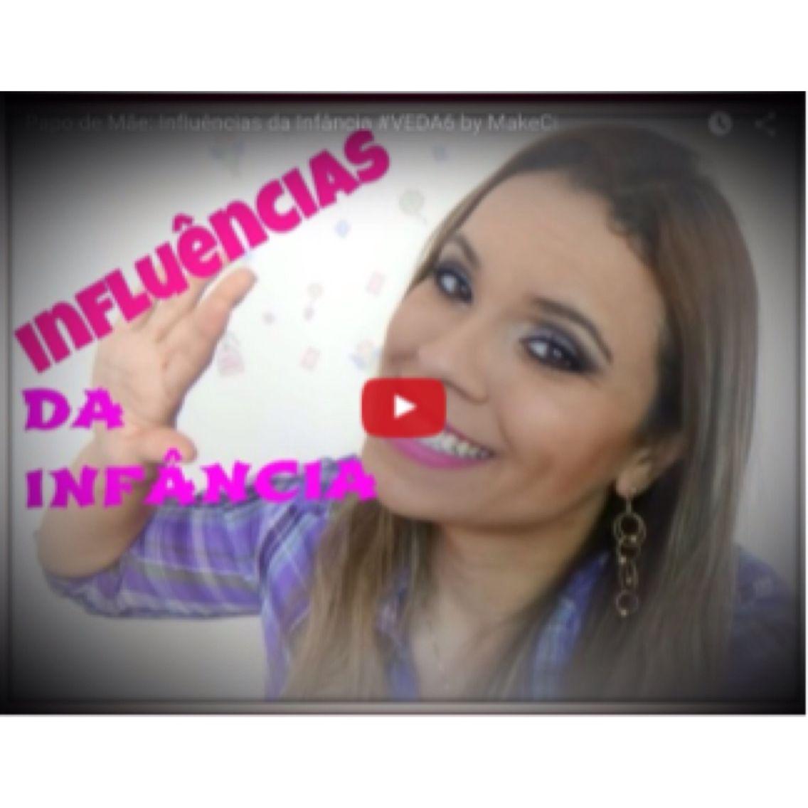 Influências da Infância está no ar. https://youtu.be/kwQRyF1LP-8 www.makeci.com.br