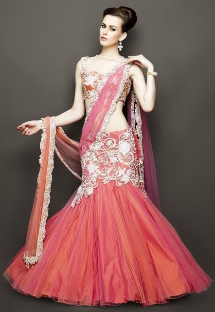Indian Bridal Wear Trends 2014 | Indian Wedding Dresses ...