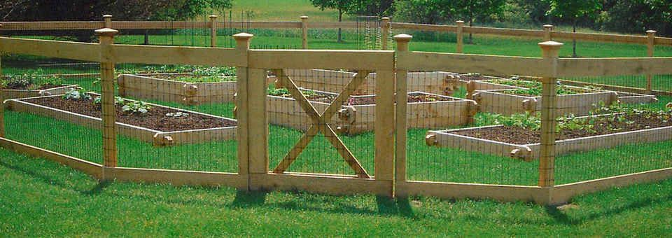 images about garden fences on Pinterest Garden fencing