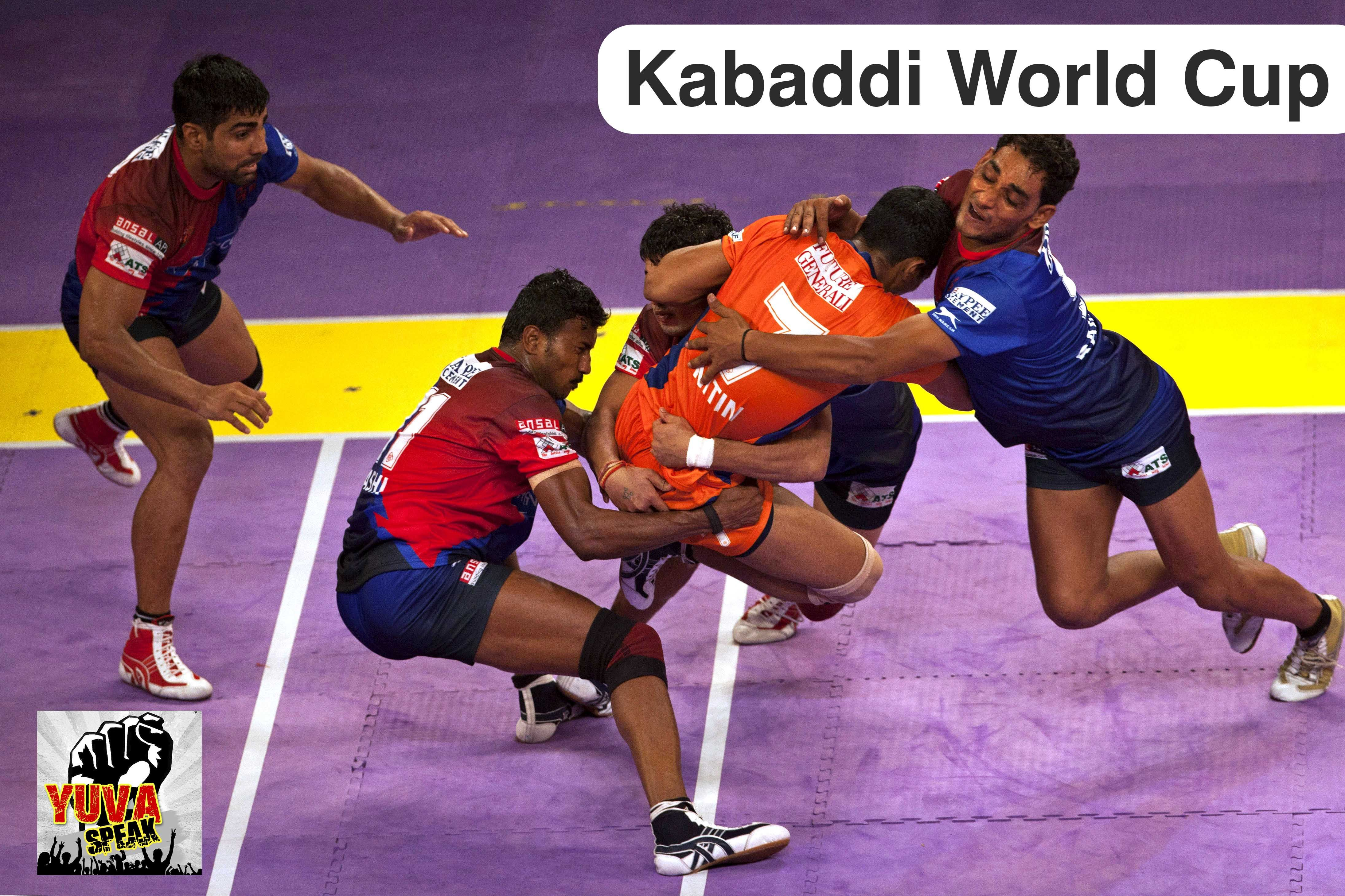 Get Latest Updates Of These Kabaddi World Cup 2016 With Yuvaspeak Yuvaspeak Is One Of The Best Informational B Kabaddi World Cup World Cup News Olympic Sports
