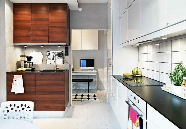 Diseños cocinas pequeñas modernas - cincuenta modelos - | Cosis ...