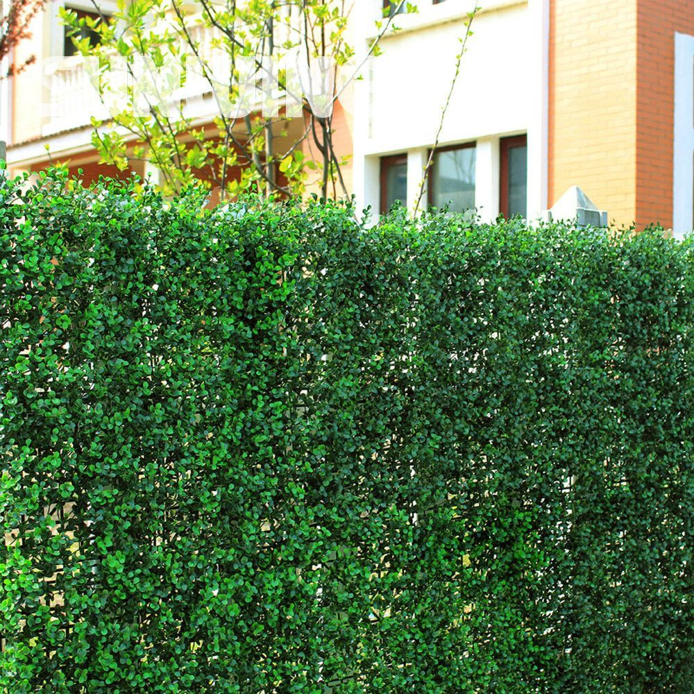 1.5sqm Artificial Boxwood Hedges Panels Outdoor Decorative Sythenic ...