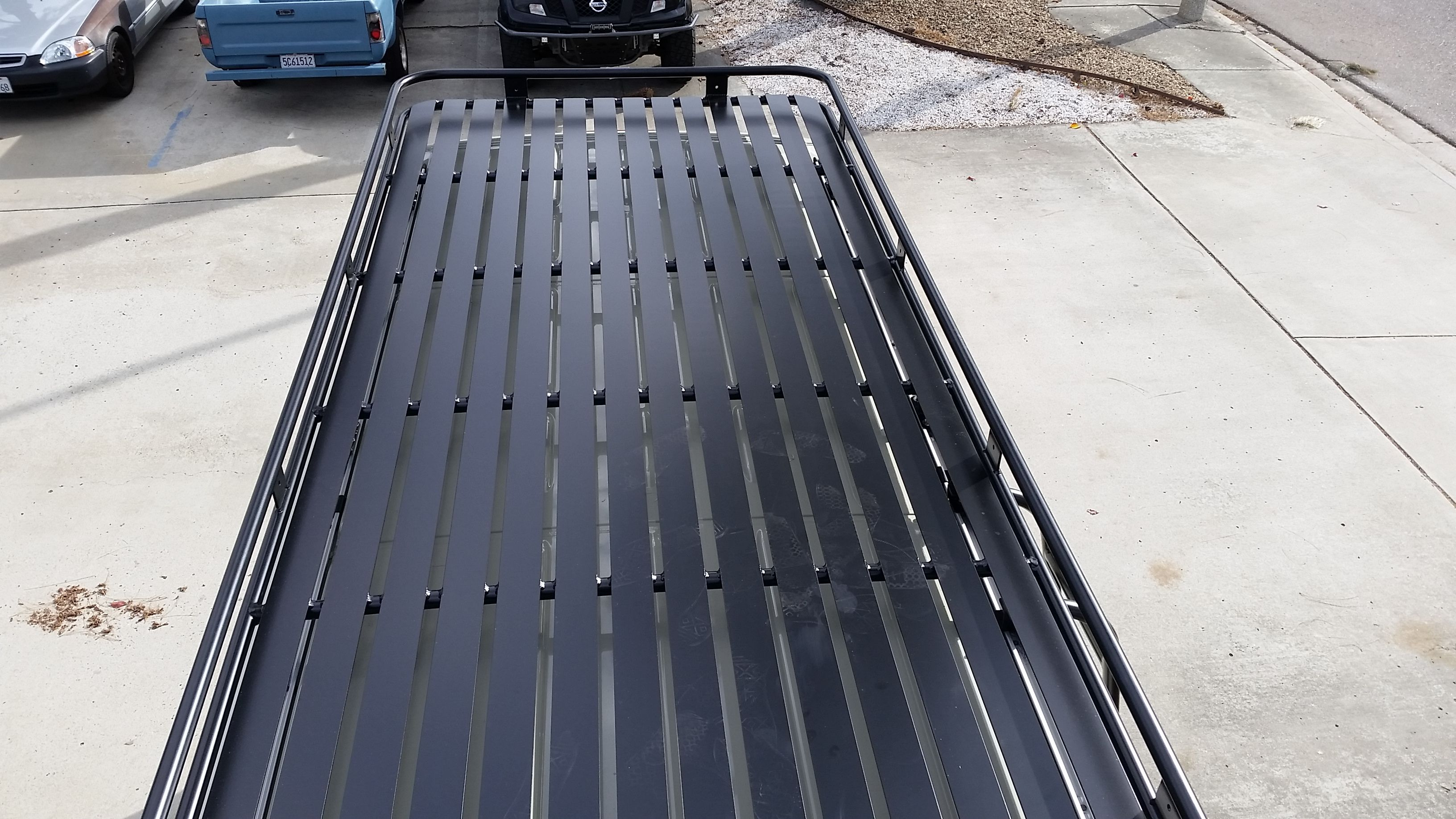 Mercedes Sprinter 4x4 With Aluminum Off Road Roof Rack