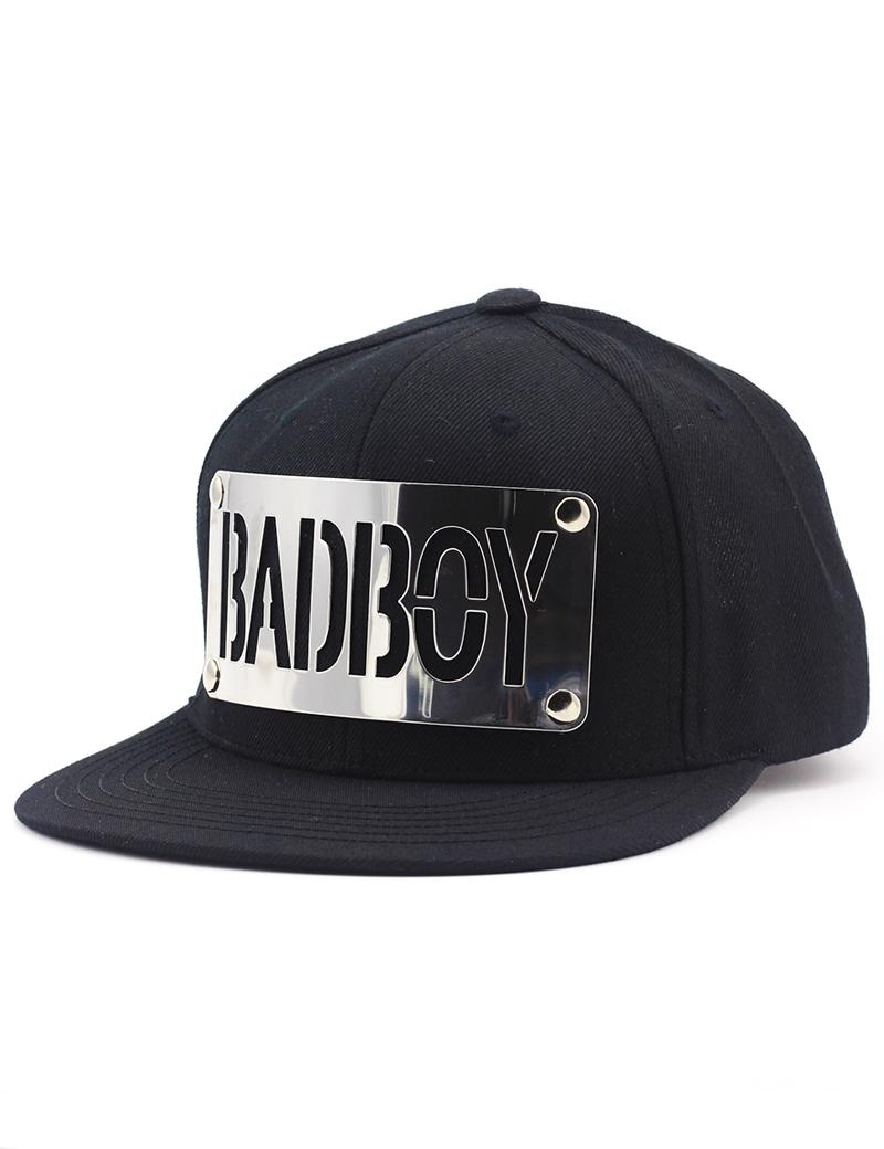 Badboy Metal Plate Snapback Hat Gold Premium Kpop Cap Store Kpop Hat Korean Fashion Metal Plate Hats Kpop Hat Fashion Fashion Week Dresses