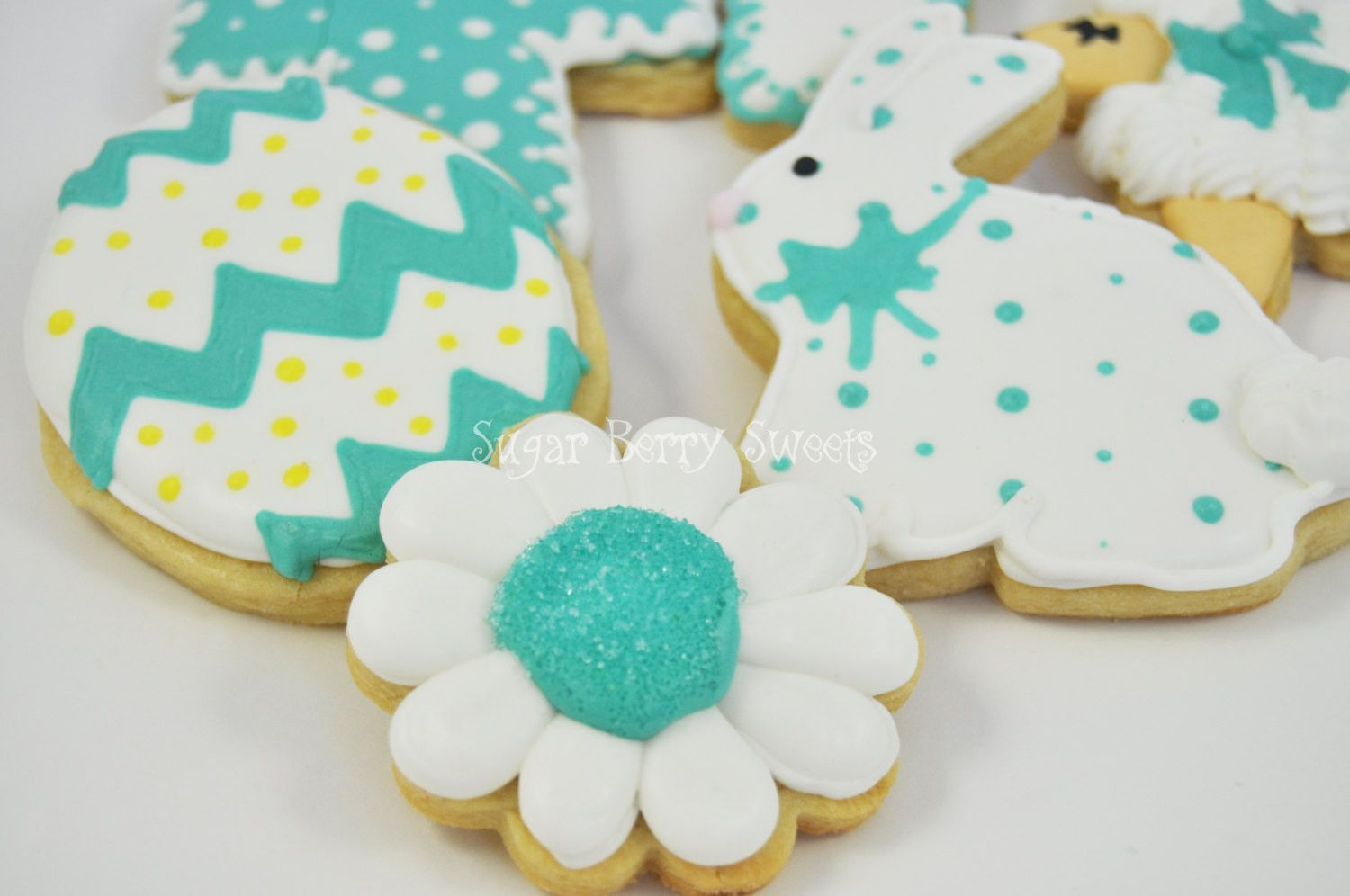 pictures Sugar Cookie Bunnies and Lambs