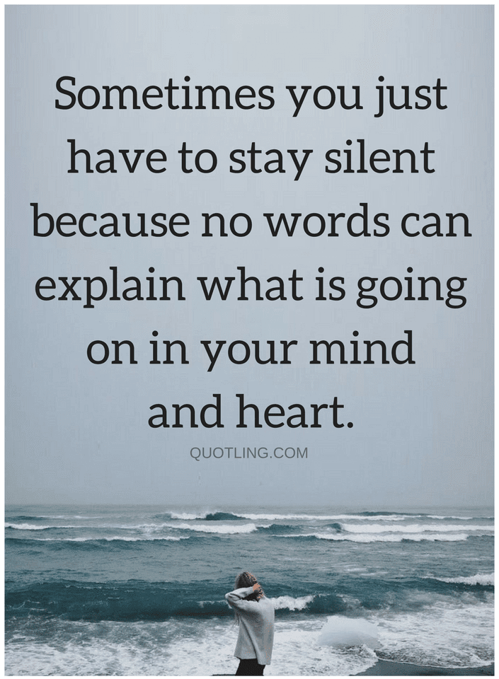 Quotes Feelings are not always easy to put in word