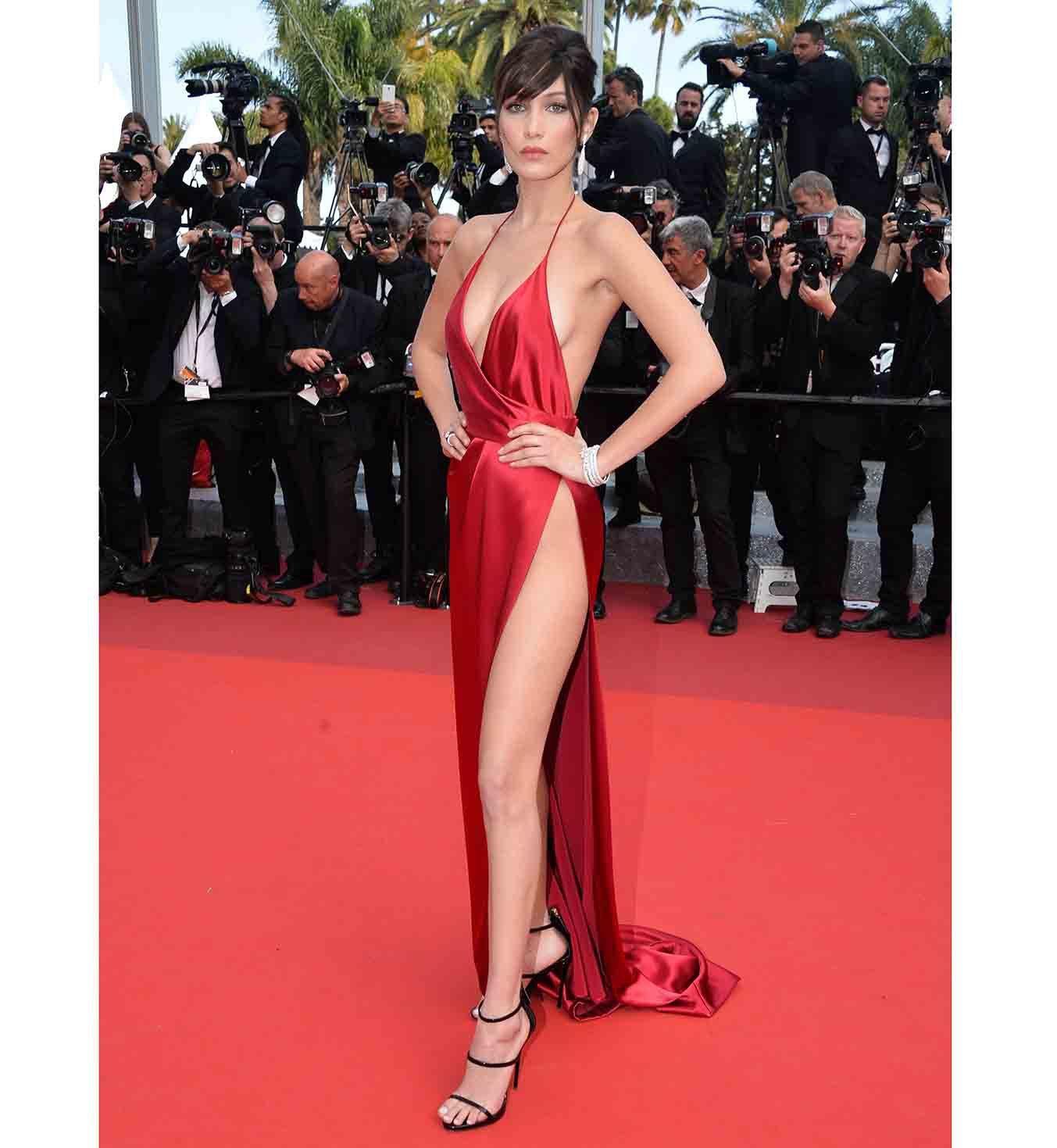 Plus belle robe rouge